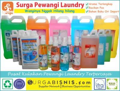 Pelicin Pakaian VS Parfum Laundry mana paling wangi