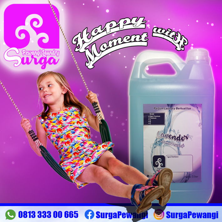 parfum laundry aroma lavender