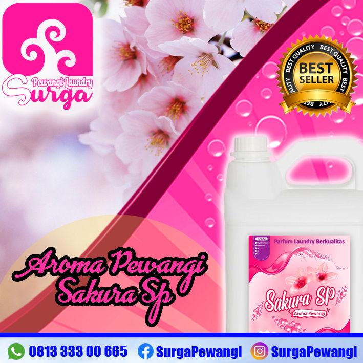 parfum laundry aroma sakura sp