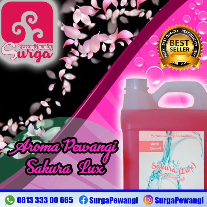 pewangi laundry aroma sakura