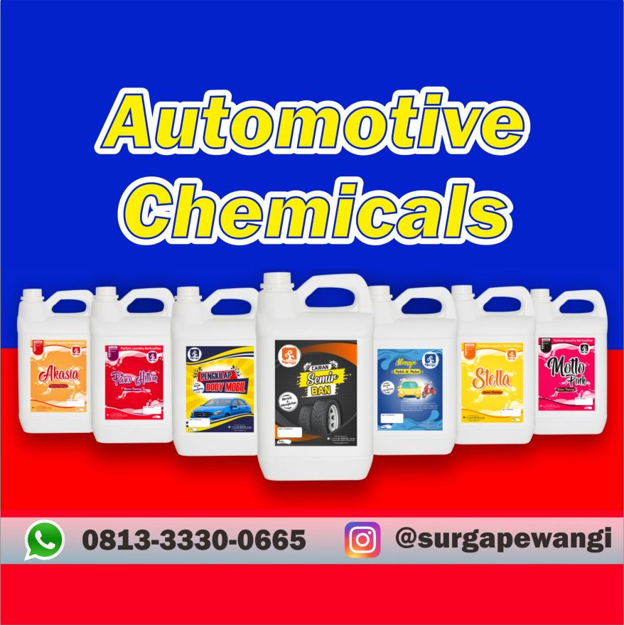 Automotive Chemicals Surga Pewangi Daerah Unggaran