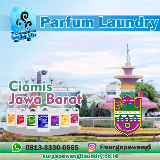 Parfum Laundry Ciamis, Jawa Barat