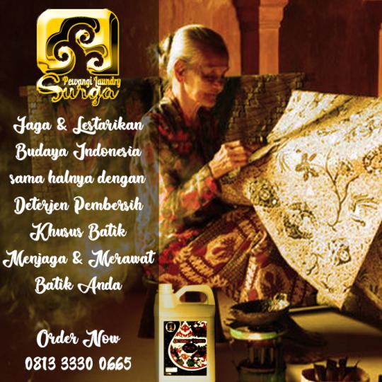 Sedia Deterjen Pembersih Batik di Surabaya