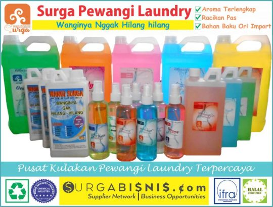 Harga pewangi Laundry Di Borobudur
