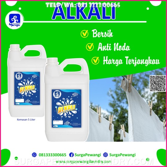 Jual Alkali Untuk Deterjen Laundry di Sambas