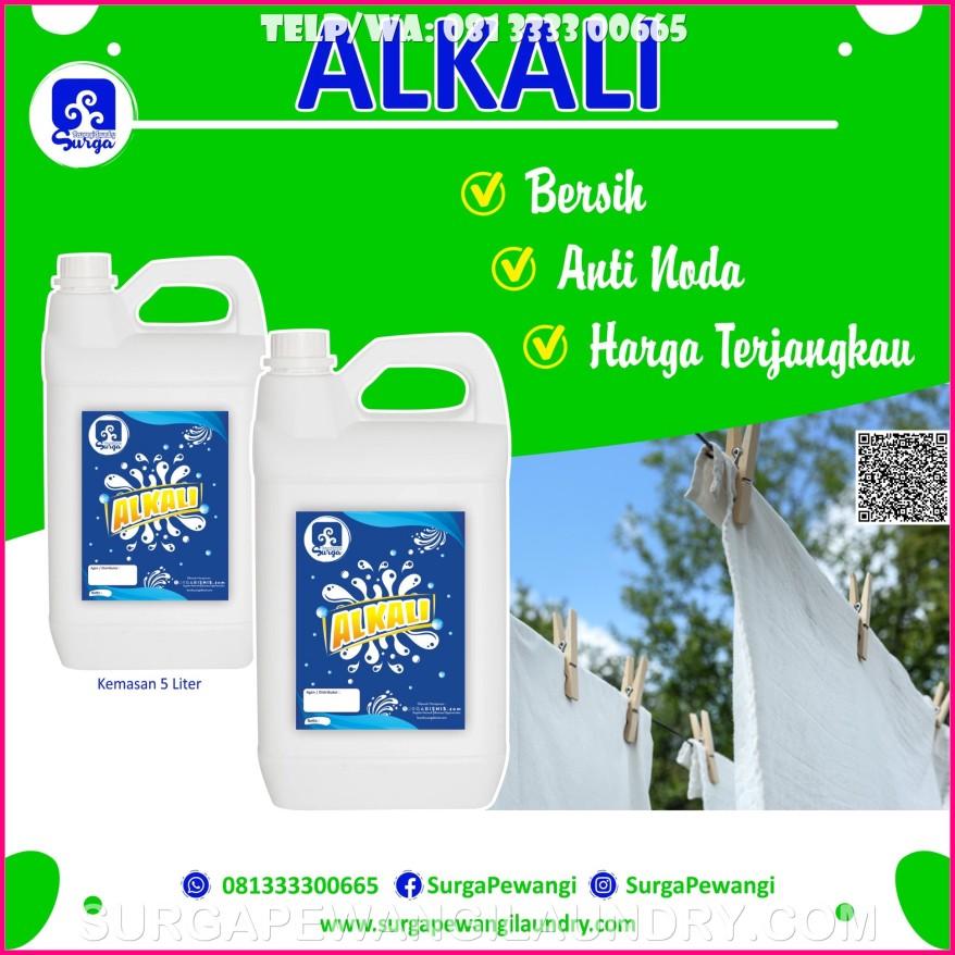 Jual Alkali Untuk Deterjen Laundry di Unggaran