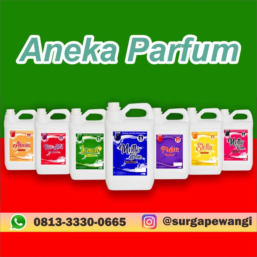 Jual Aneka Aroma Parfum Surga Pewangi Laundry Di Sukabumi