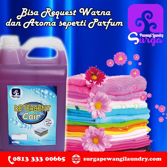 Jual Deterjen Cair Laundry Wilayah Cirebon