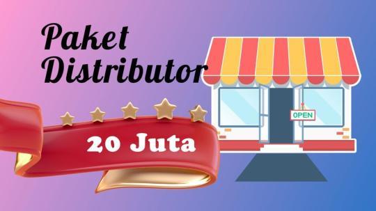 Paket Distributor 20 Jt