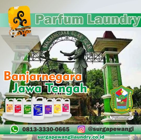 Parfum Laundry Banjarnegara.