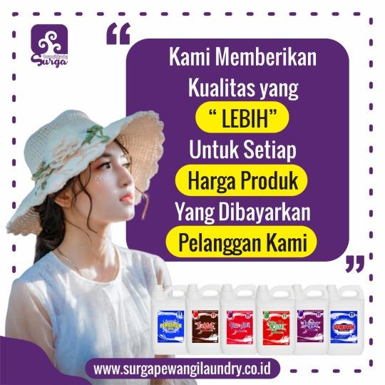 Parfum Laundry Berkualitas di Surabaya