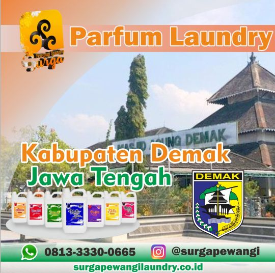 Parfum Laundry Demak.