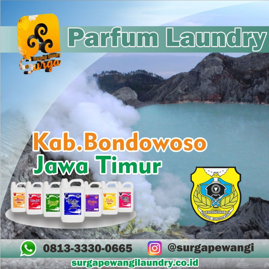 Parfum Laundry Kabupaten Bondowoso, Jawa Timur