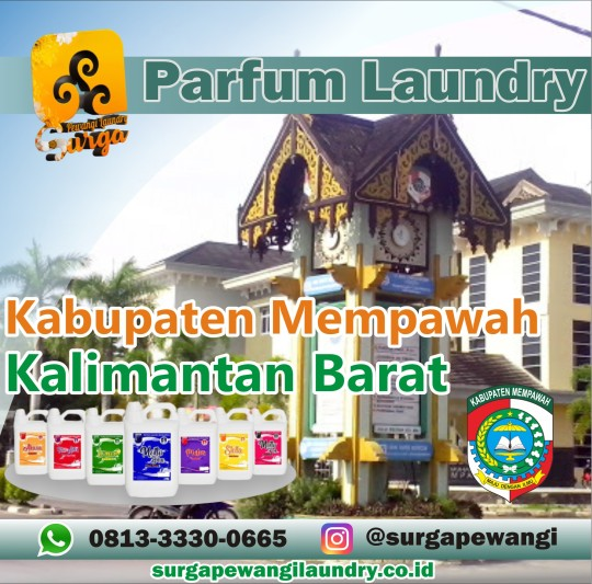 Parfum Laundry Kabupaten Mempawah, Kalimantan Barat