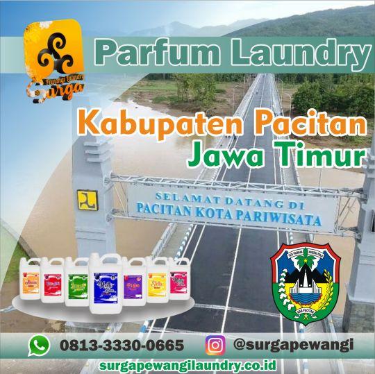 Parfum Laundry Kabupaten Pacitan, Jawa Timur