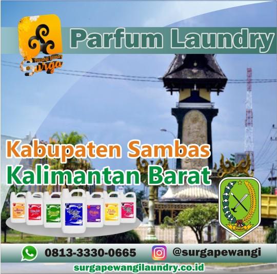 Parfum Laundry Kabupaten Sambas, Kalimantan Barat