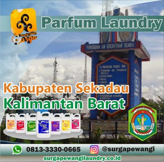 Parfum Laundry Kabupaten Sekadau, Kalimantan Barat