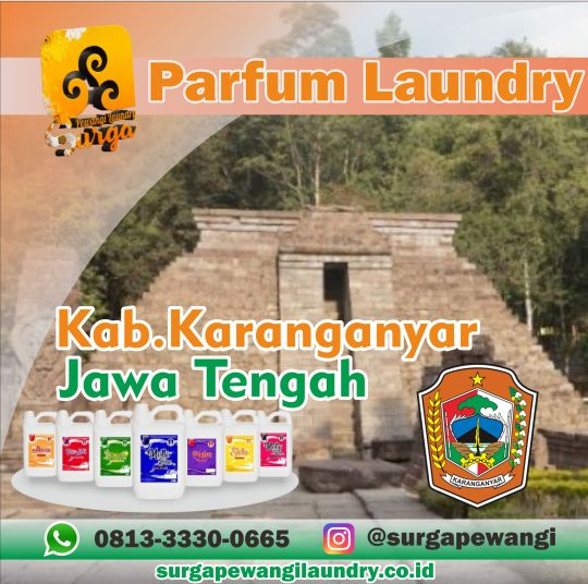 Parfum Laundry Karanganyar.