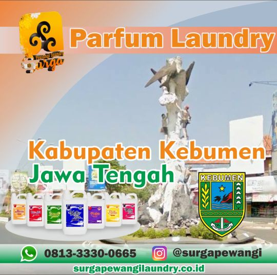 Parfum Laundry Kebumen.