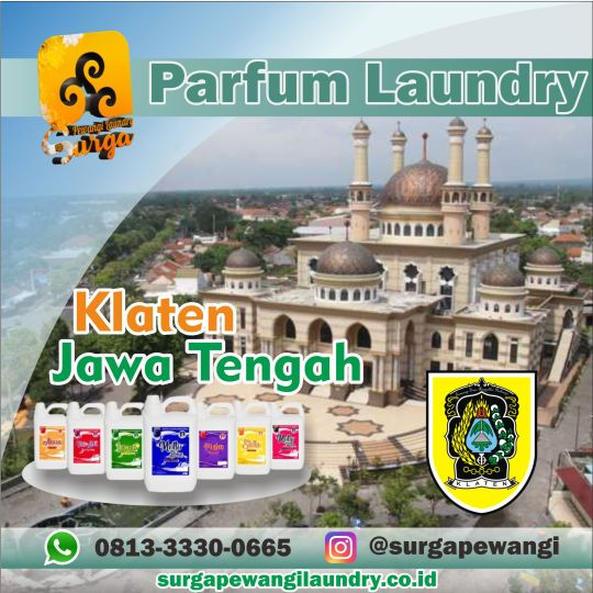 Parfum Laundry Klaten.