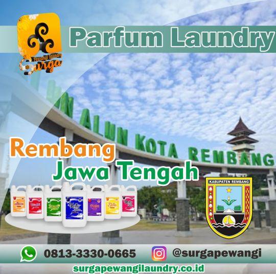 Parfum Laundry Rembang.