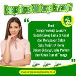 Parfum Laundry Sukabumi Surga PewangiLaundry