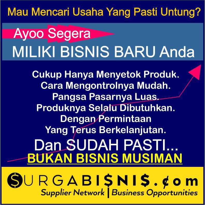 Peluang Bisnis Pewangi Laundry Sukabumi