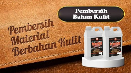 Pembersih Bahan Kulit Surabaya