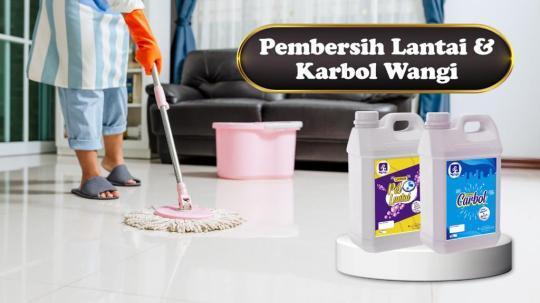 Pembersih Lantai & Karbol Wangi Di Wonosobo