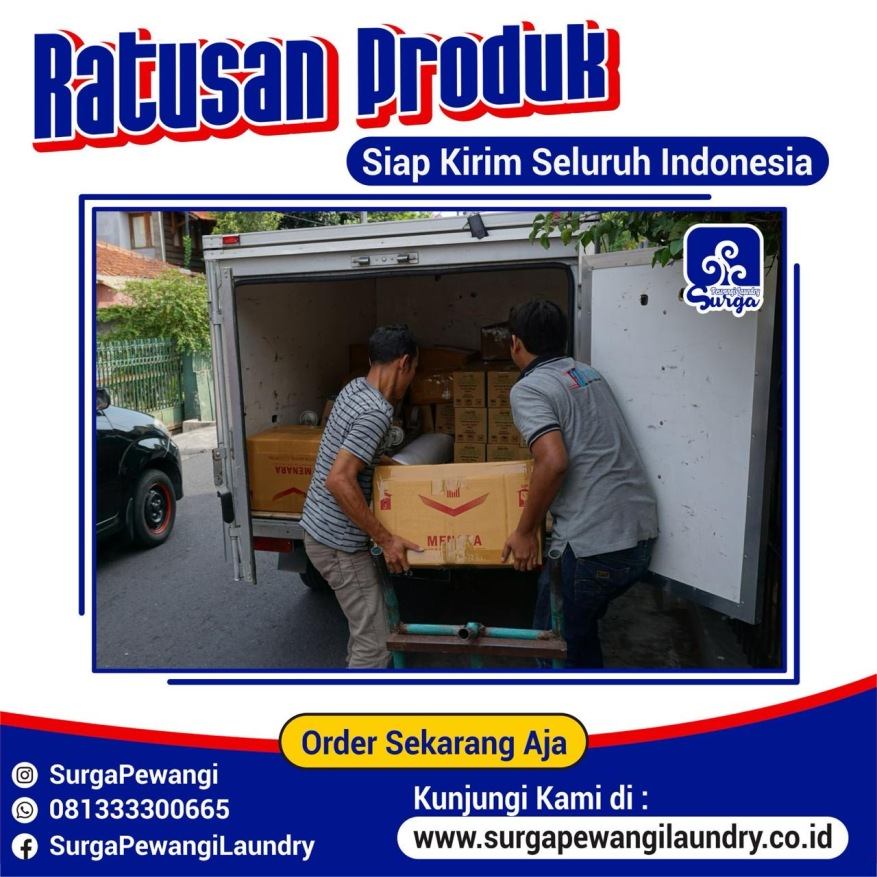 Pengiriman Parfum Laundry Cirebon