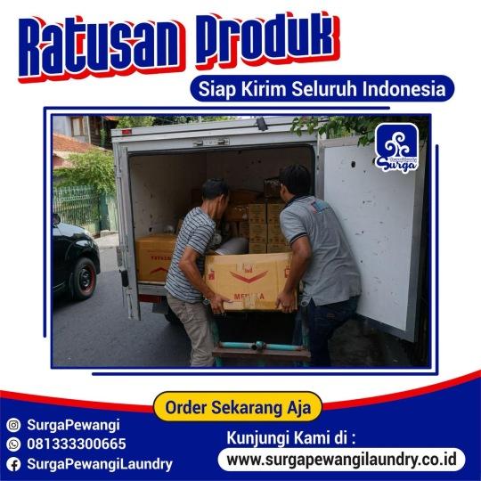 Pengiriman Parfum Laundry Surabaya