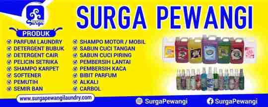 Produsen Parfum Laundry Sidoarjo