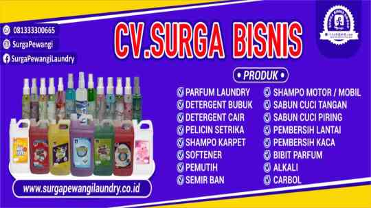 Produsen Pewangi Laundry Sampang Madura