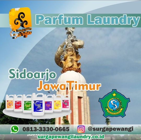 Parfum Laundry Sidoarjo, Jawa Timur