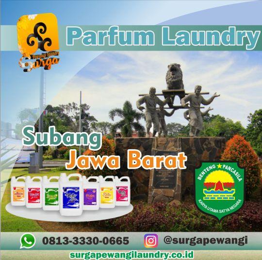 Parfum Laundry Subang, Jawa Barat