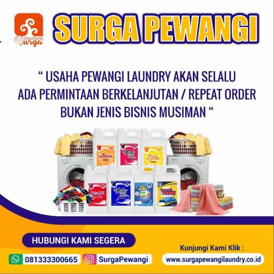 Usaha Parfum Laundry Di Kota Pekalongan