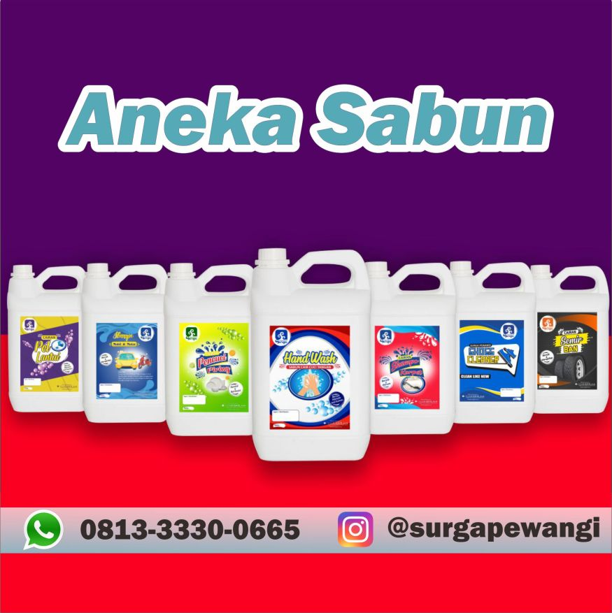 Distributor Aneka Sabun Surga Pewangi Laundry Mahakam Ulu