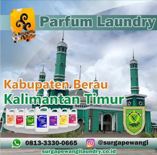 Parfum Laundry Kabupaten Berau, Kalimantan Timur