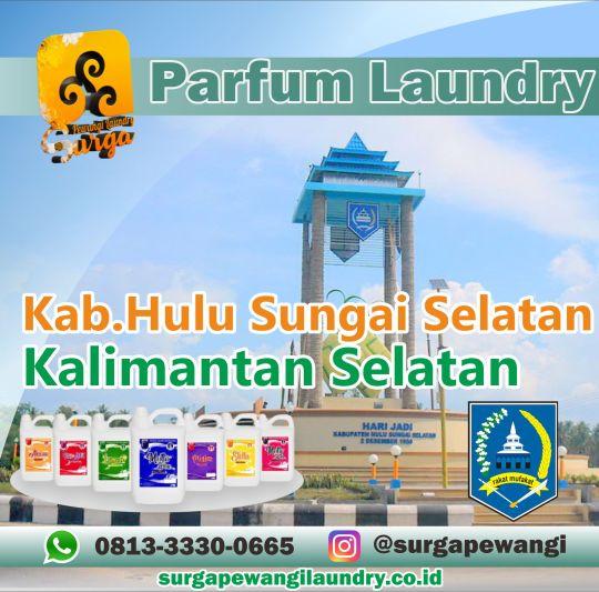 Parfum Laundry Kabupaten Hulu Sungai Selatan, Kalimantan Selatan