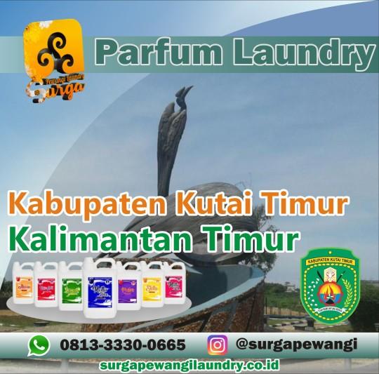 Parfum Laundry Kabupaten Kutai Timur, Kalimantan Timur