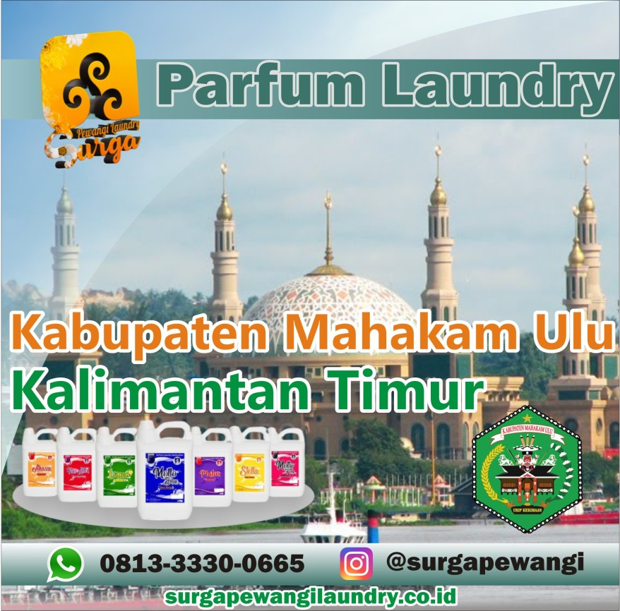 Parfum Laundry Kabupaten Mahakam Ulu, Kalimantan Timur