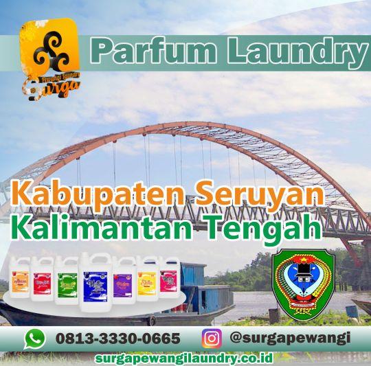 Parfum Laundry Kabupaten Seruyan, Kalimantan Tengah