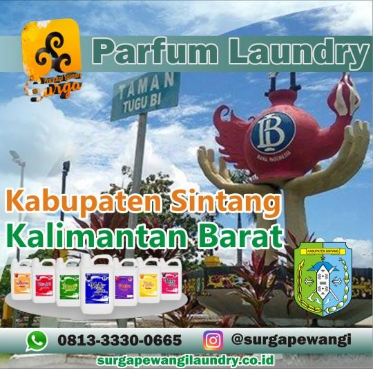 Parfum Laundry Kabupaten Sintang, Kalimantan Barat