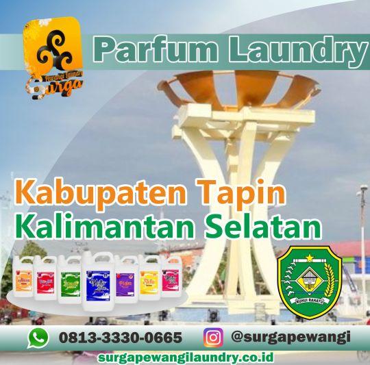 Parfum Laundry Kabupaten Tapin, Kalimantan Selatan