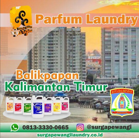 Parfum Laundry Kota Balikpapan, Kalimantan Timur