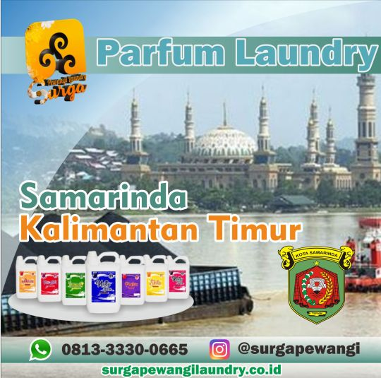 Parfum Laundry Kota Samarinda, Kalimantan Timur