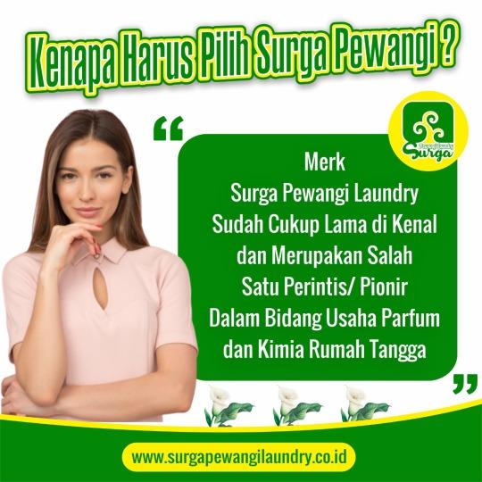Parfum Laundry Mahakam Ulu Surga Pewangi Laundry