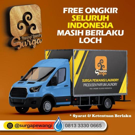 Parfum Laundry Paser Free Ongkir