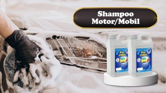 Shampo Mobil & Motor Di Lamandau
